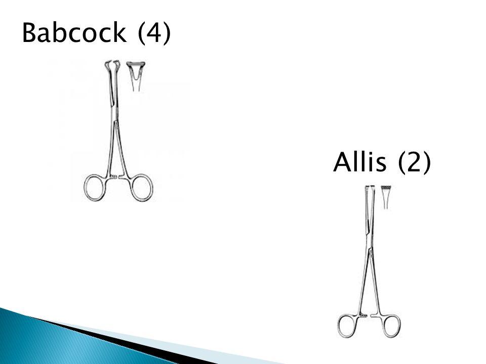 Babcock (4) Allis (2)