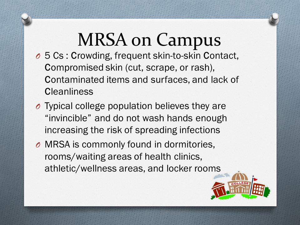 MRSA on Campus