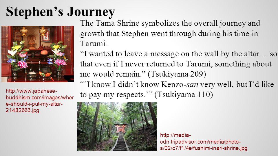 Work Cited Tsukiyama, Gail. The Samurai s Garden. New York: St. Martin s, 1995. Print.