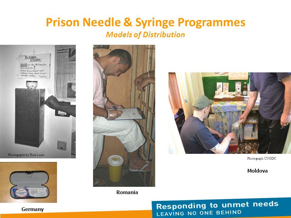 Prison Needle & Syringe Programmes Models of Distribution