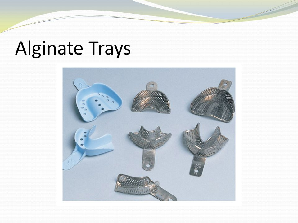 Alginate Trays