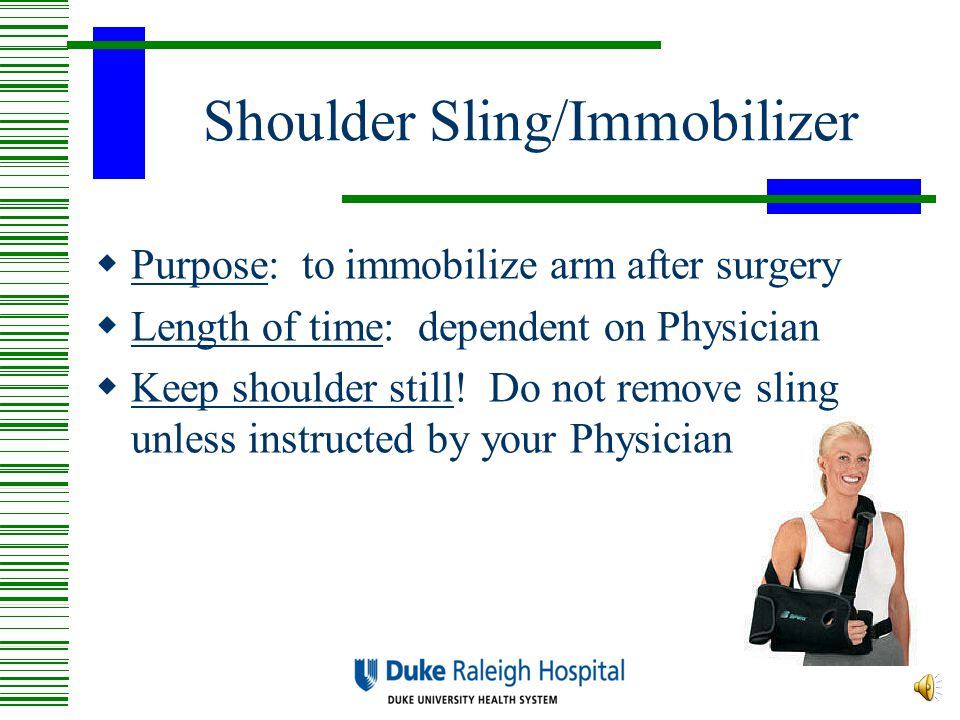 Shoulder Sling/Immobilizer