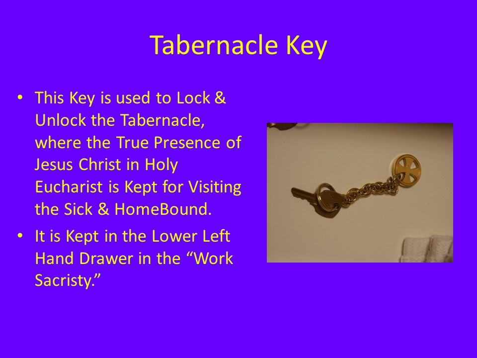 Tabernacle Key