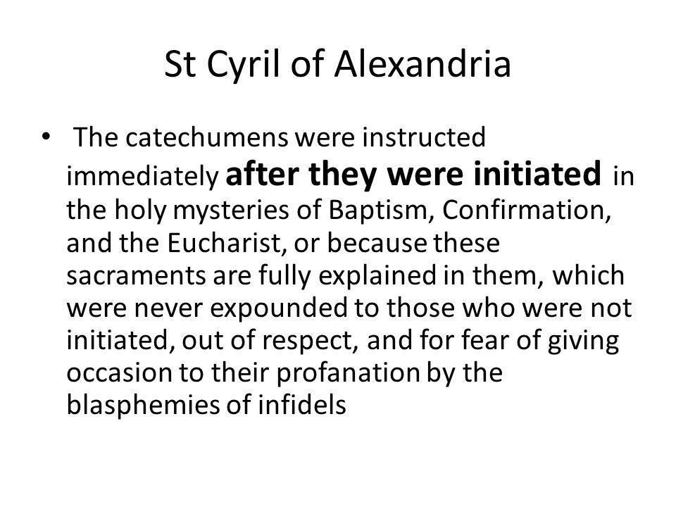 St Cyril of Alexandria