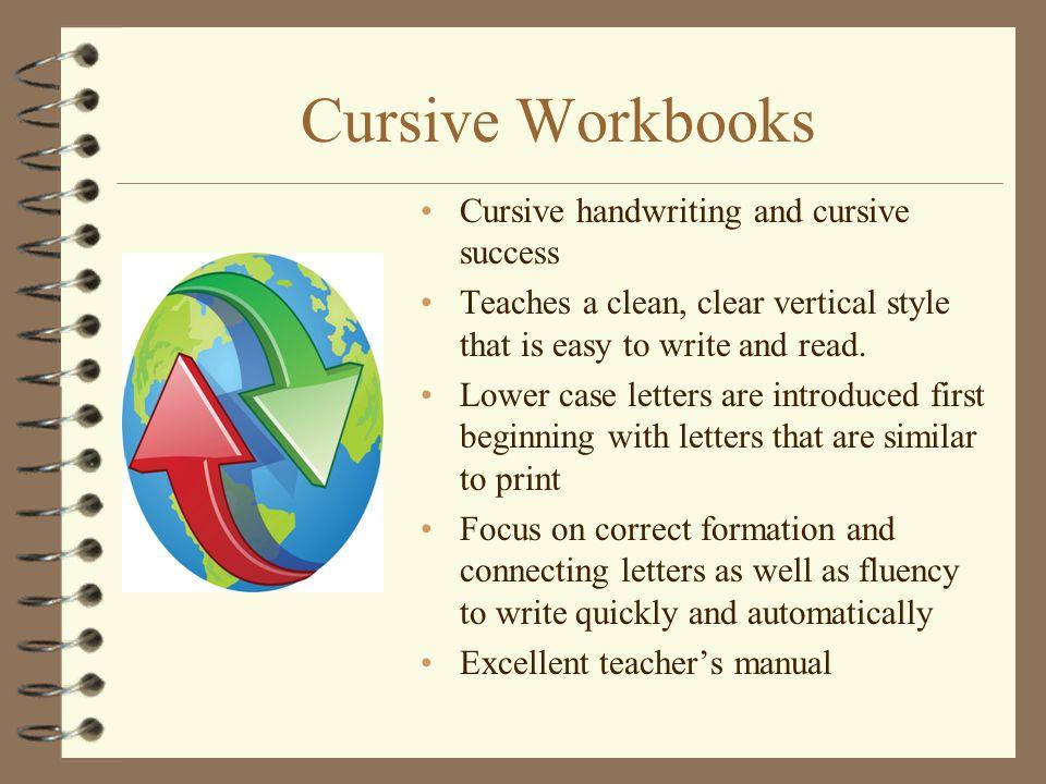 Cursive Workbooks Cursive handwriting and cursive success