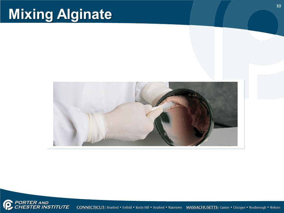Mixing Alginate