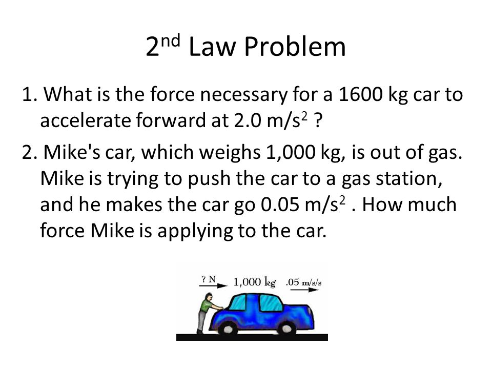 2nd Law Problem