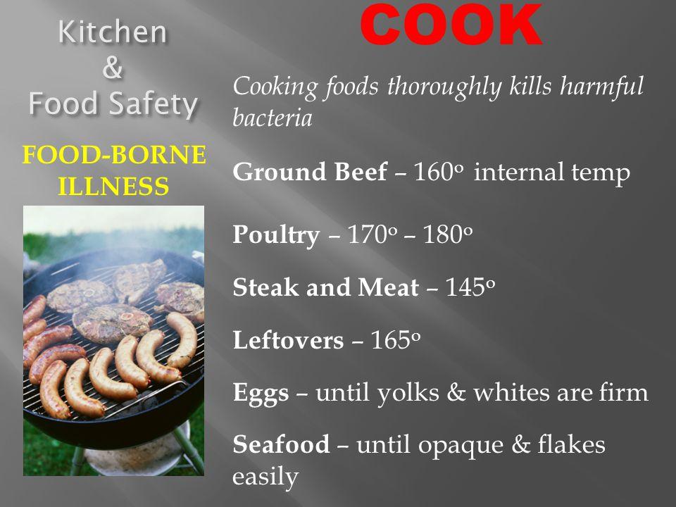 COOK Kitchen & Food Safety