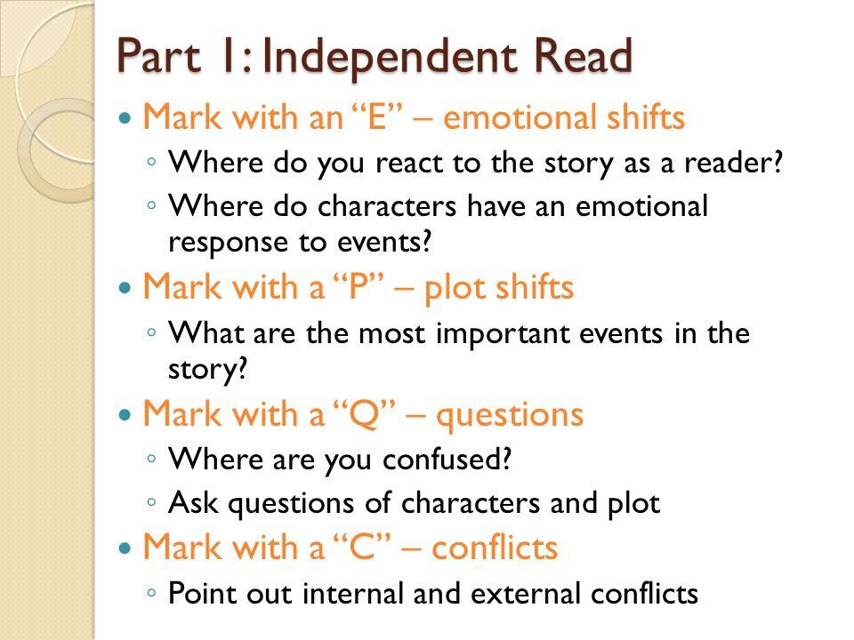 Part 1: Independent Read