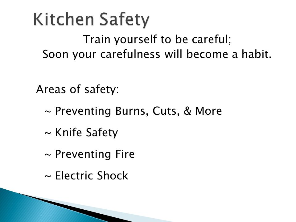Kitchen Safety