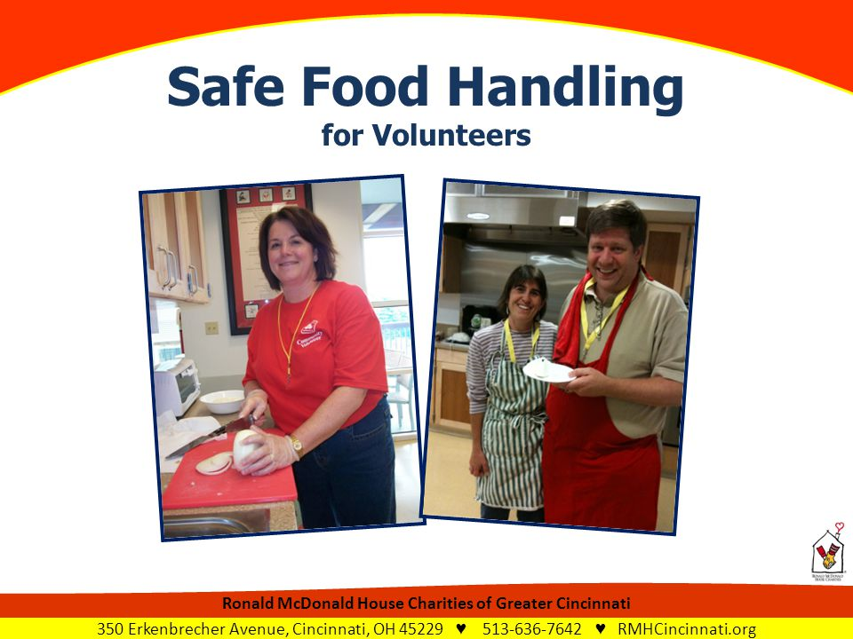safe food handling Businesses which ensure that their food handlers have safe food handling skills and knowledge, who supervise the work of their staff.