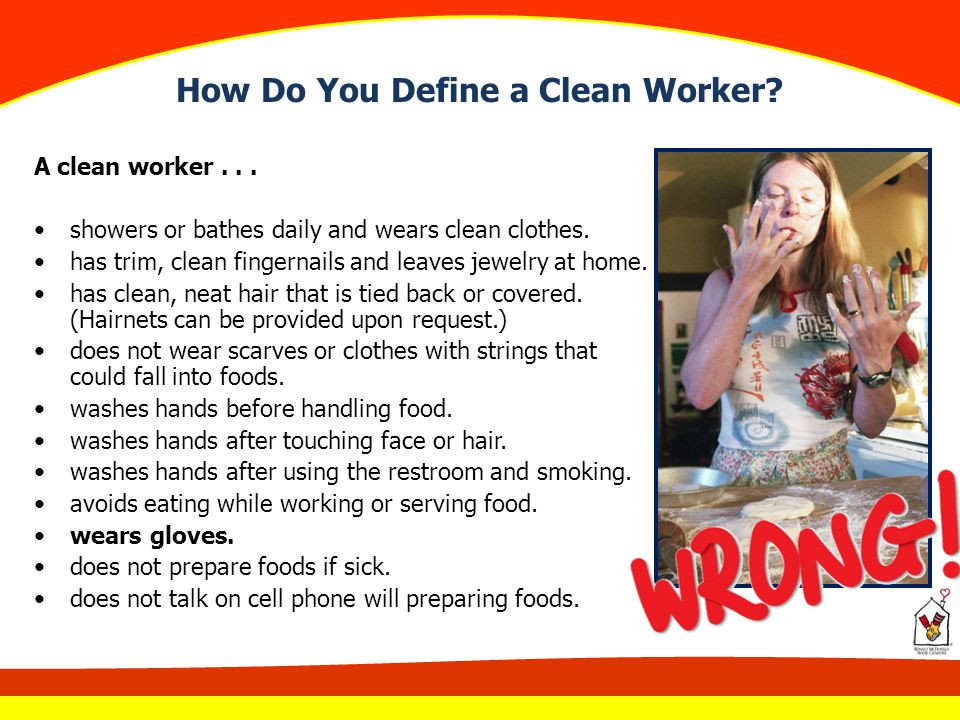 How Do You Define a Clean Worker