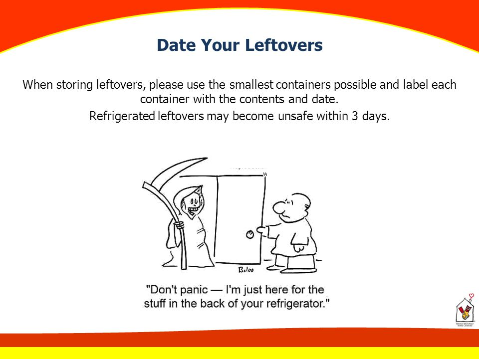 Date Your Leftovers