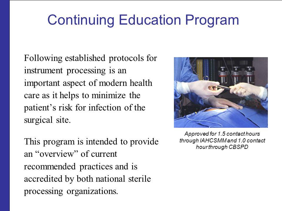 Continuing Education Program