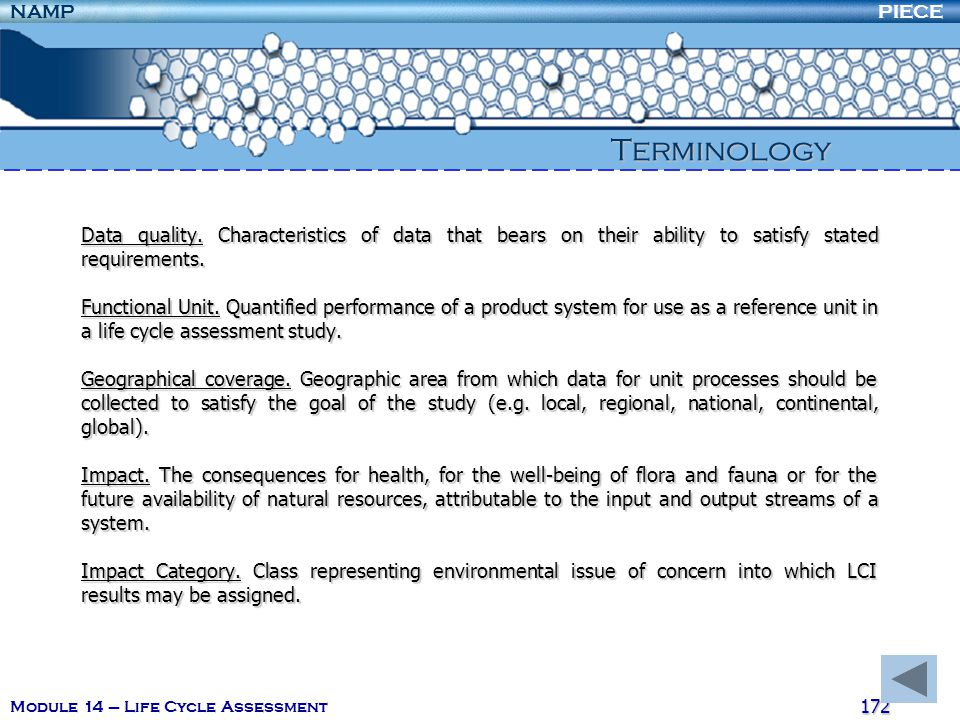 Terminology Data quality. Characteristics of data that bears on their ability to satisfy stated requirements.