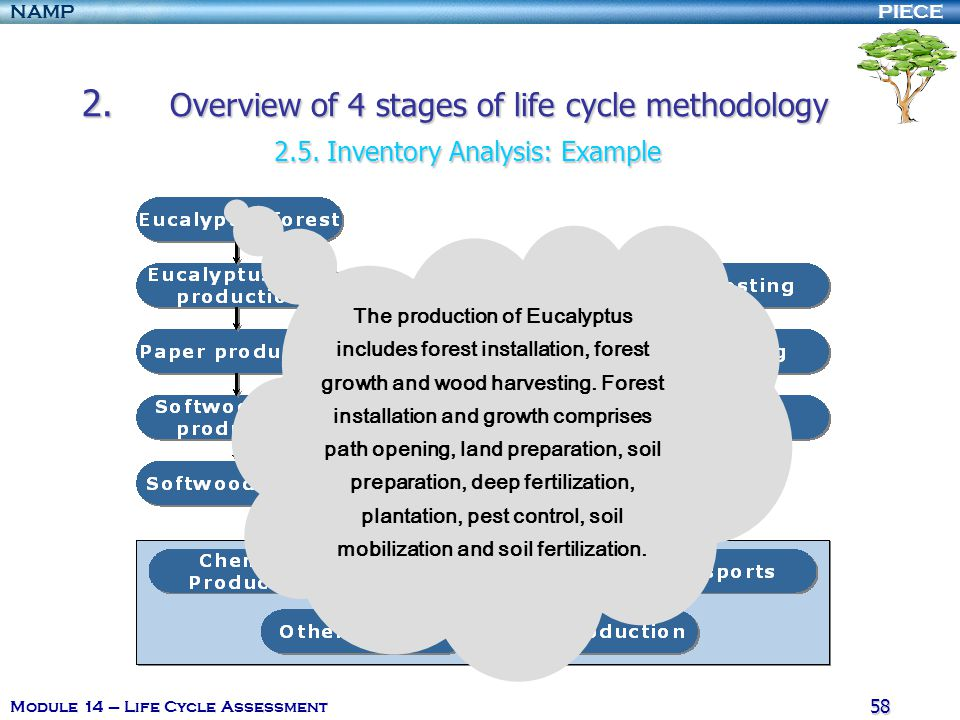 2. Overview of 4 stages of life cycle methodology. 2. 5