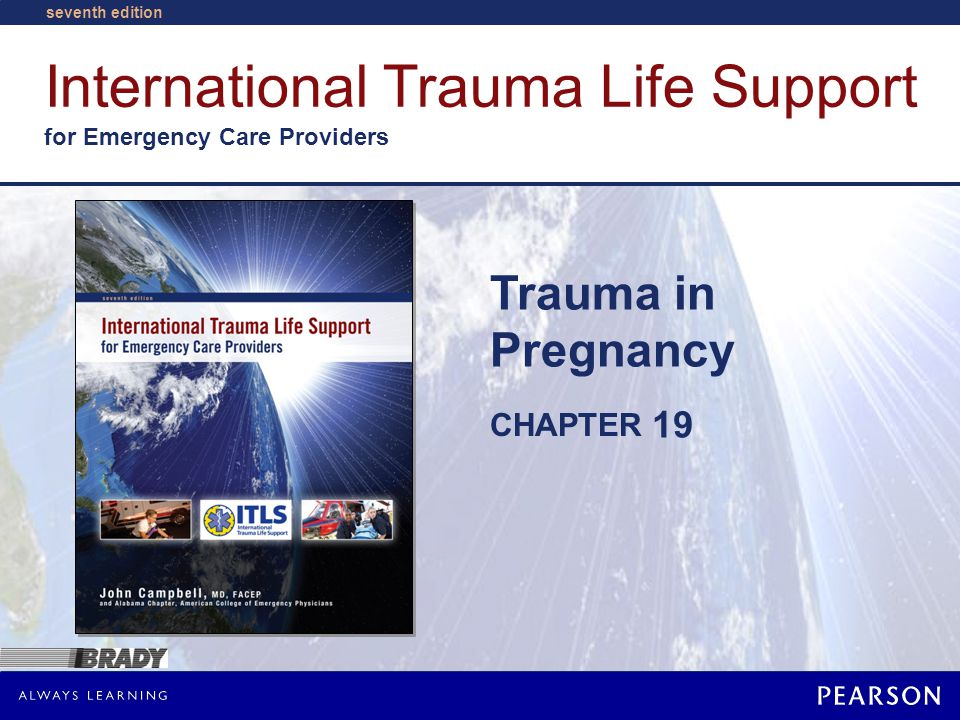 Trauma in Pregnancy Courtesy of Bonnie U. Gruenberg