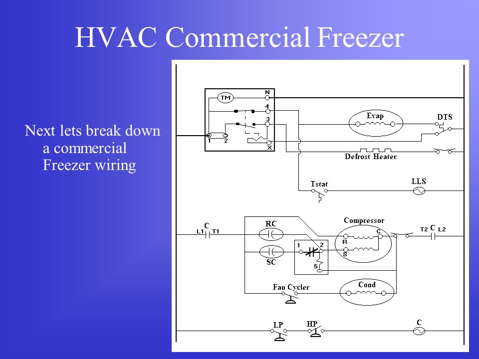 hvac commercial ref. - ppt download commercial freezer defrost timer wiring paragon defrost timer wiring diagram
