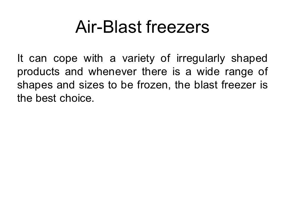 Air-Blast freezers