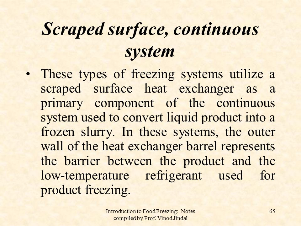 Scraped surface, continuous system