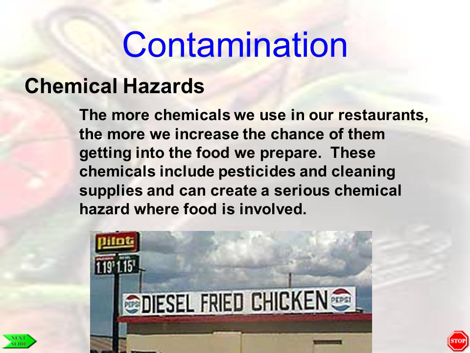 Contamination Chemical Hazards