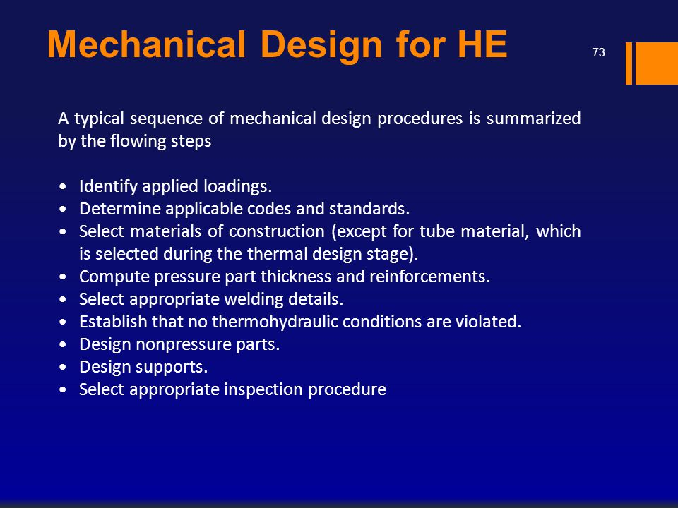 Mechanical Design for HE