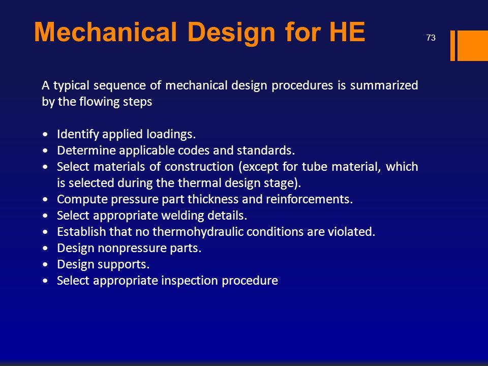 Mechanical Design for HE