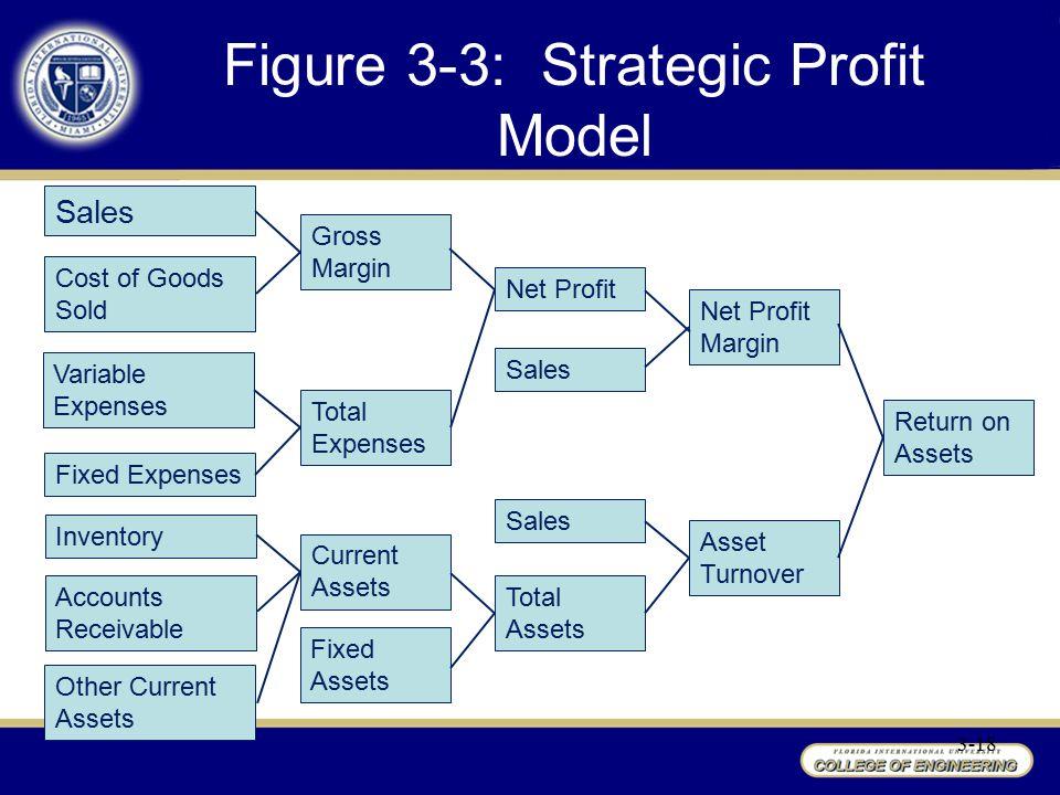 Figure 3-3: Strategic Profit Model