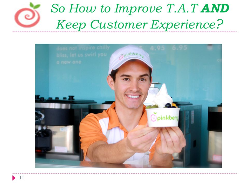 So How to Improve T.A.T AND Keep Customer Experience