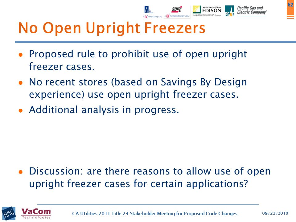 No Open Upright Freezers