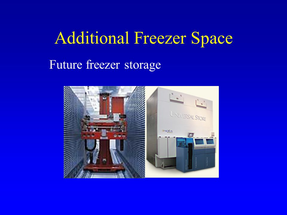Additional Freezer Space