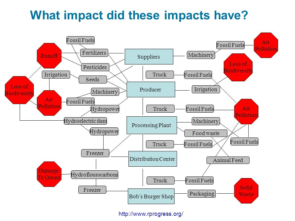 What impact did these impacts have
