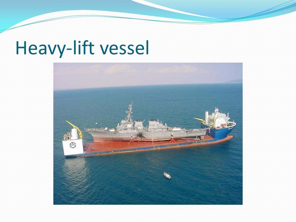 Heavy-lift vessel