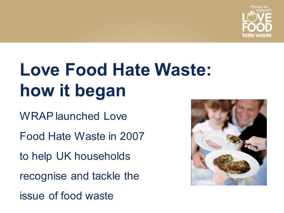 Love Food Hate Waste: how it began