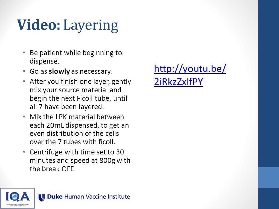 Video: Layering http://youtu.be/2iRkzZxIfPY