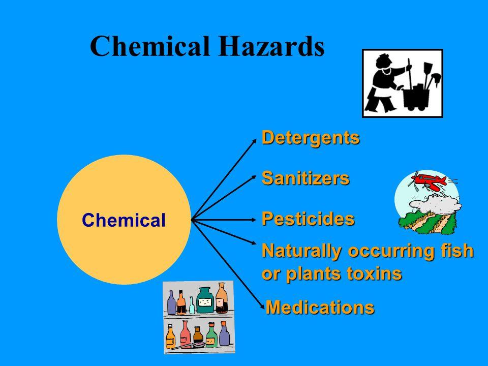 Chemical Hazards Detergents Sanitizers Chemical Pesticides