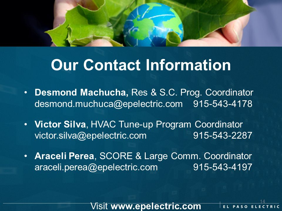 Visit www.epelectric.com