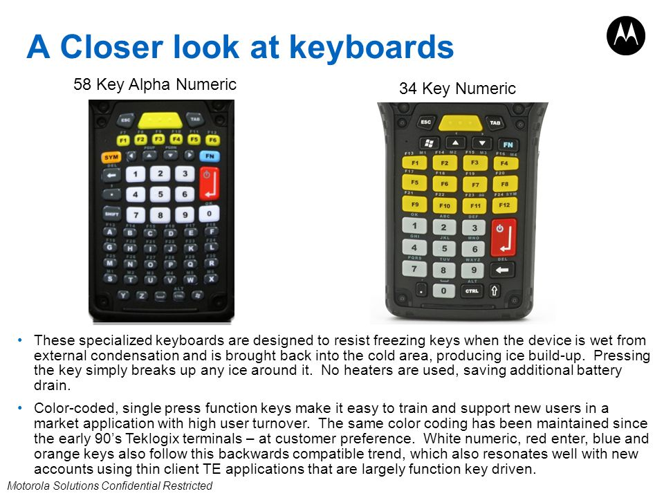 A Closer look at keyboards