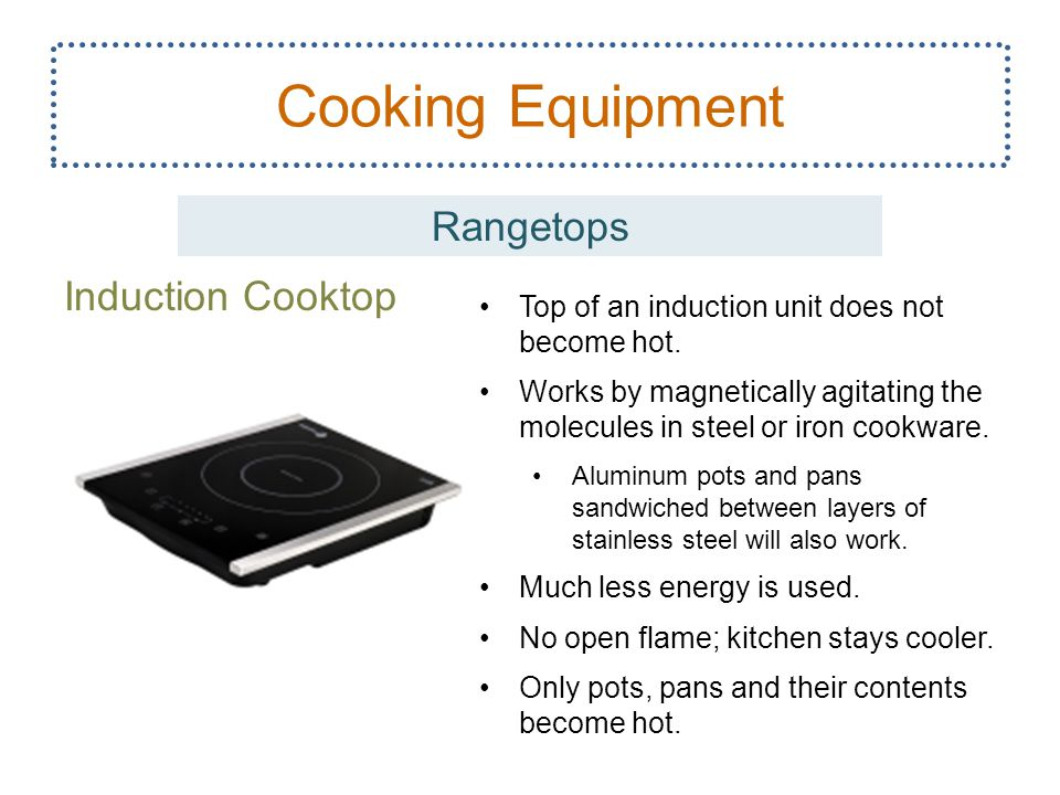 Cooking Equipment Rangetops Induction Cooktop