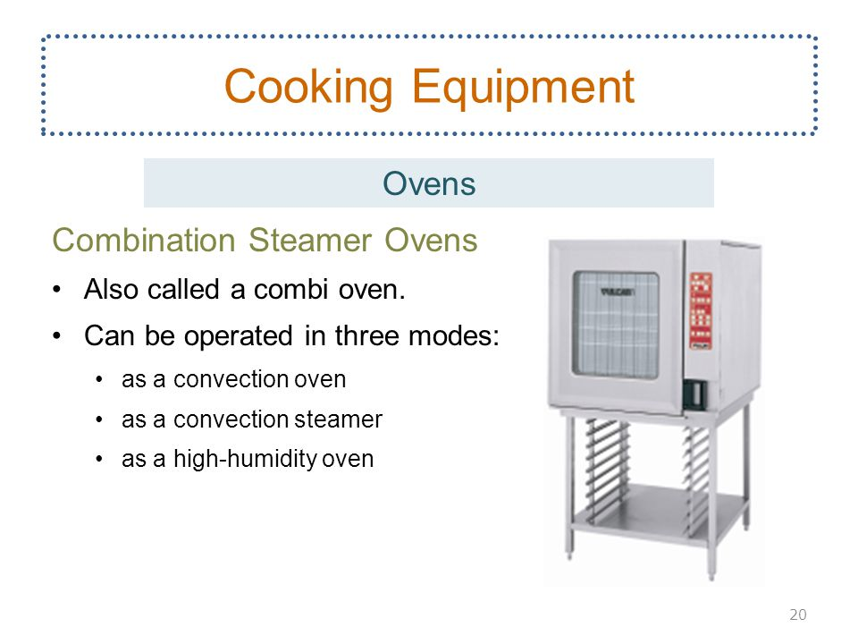 Cooking Equipment Ovens Combination Steamer Ovens