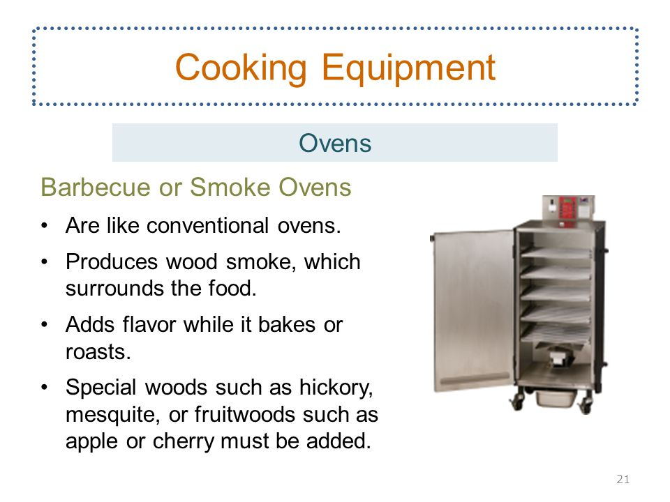 Cooking Equipment Ovens Barbecue or Smoke Ovens