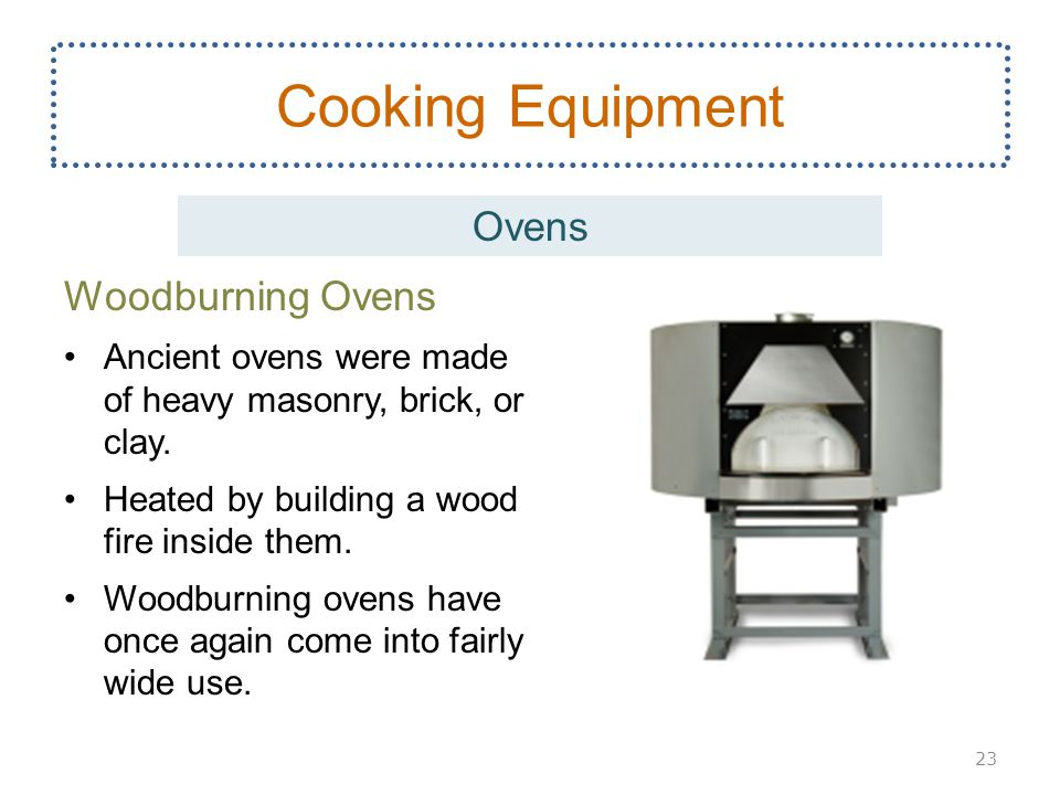 Cooking Equipment Ovens Woodburning Ovens