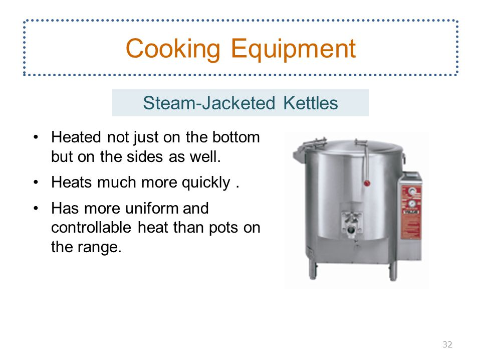 Steam-Jacketed Kettles