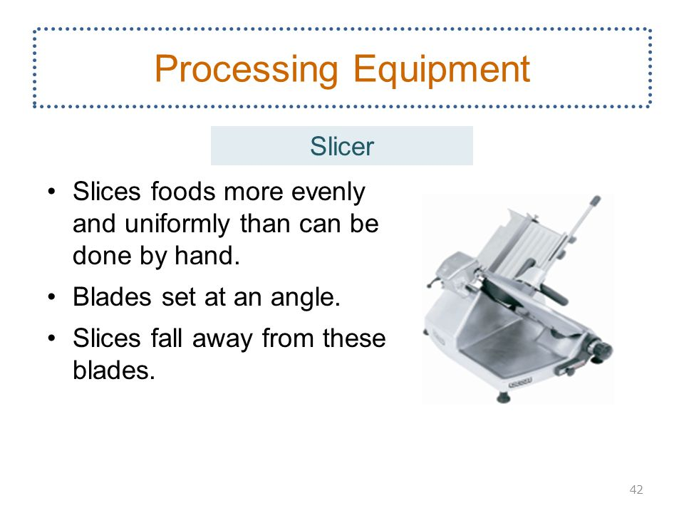 Processing Equipment Slicer
