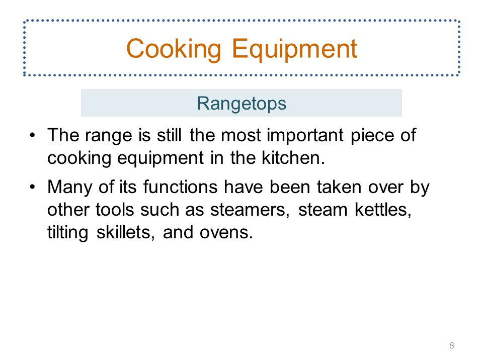 Cooking Equipment Rangetops