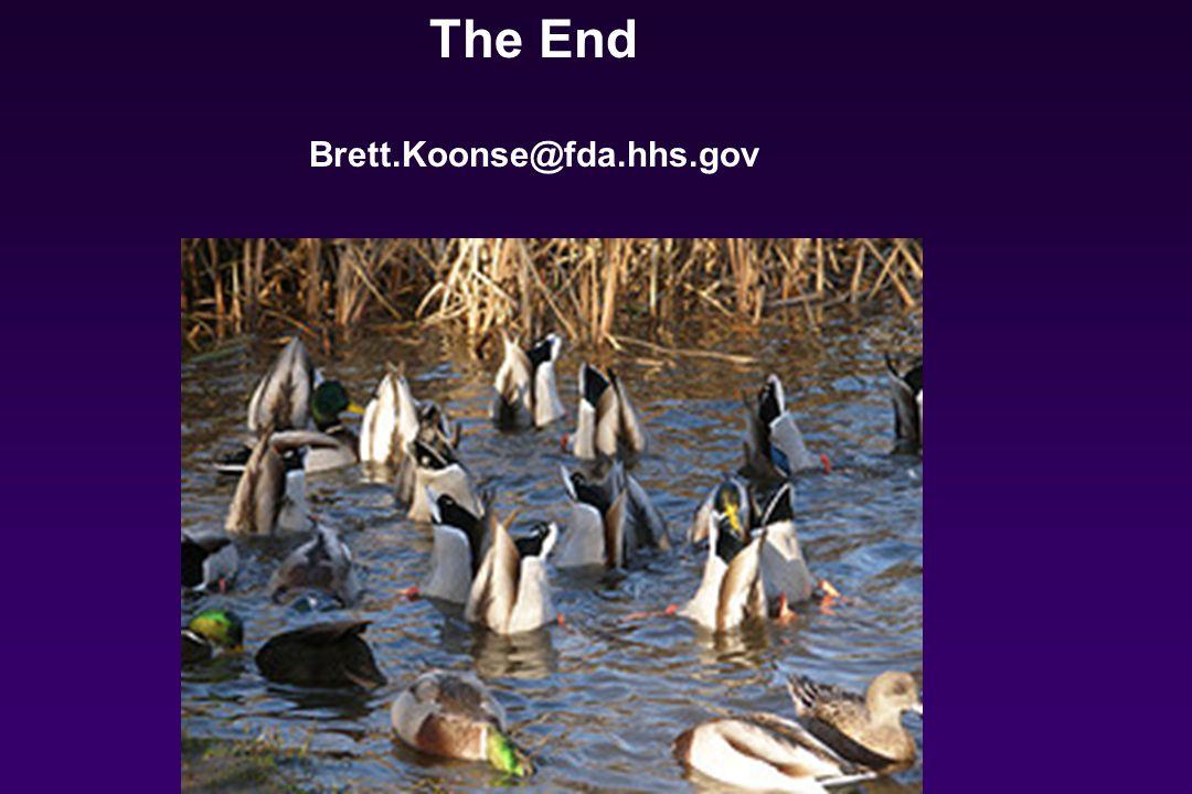 The End Brett.Koonse@fda.hhs.gov
