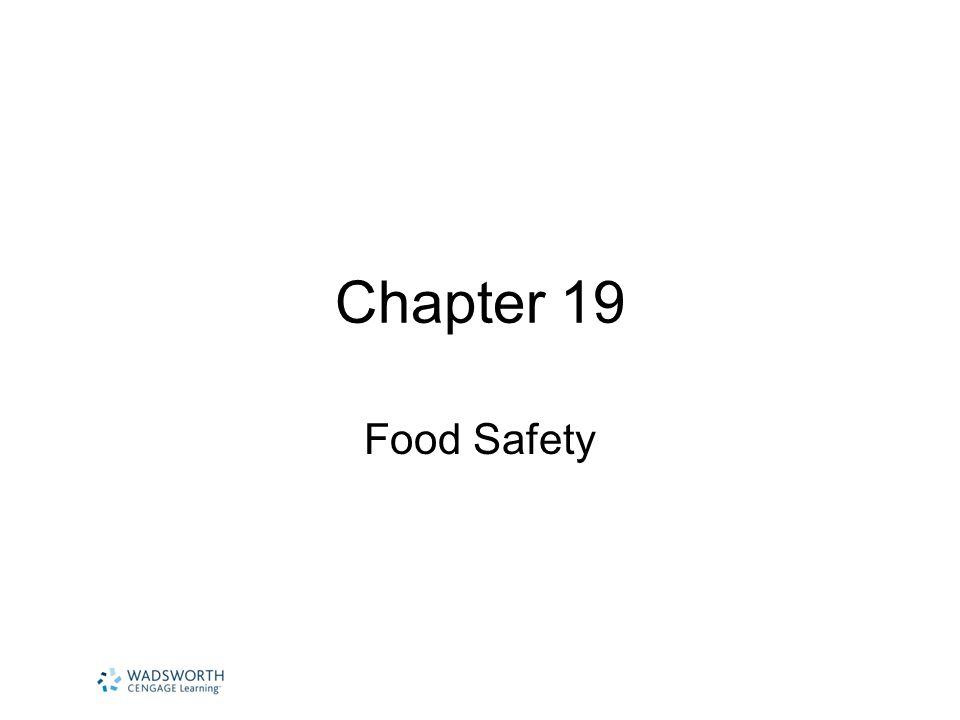 EDU 153 Granberry Summer 2012 Food Safety