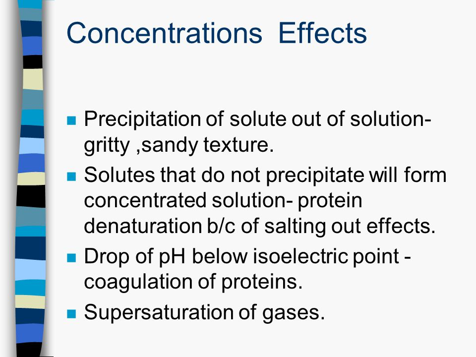 Concentrations Effects