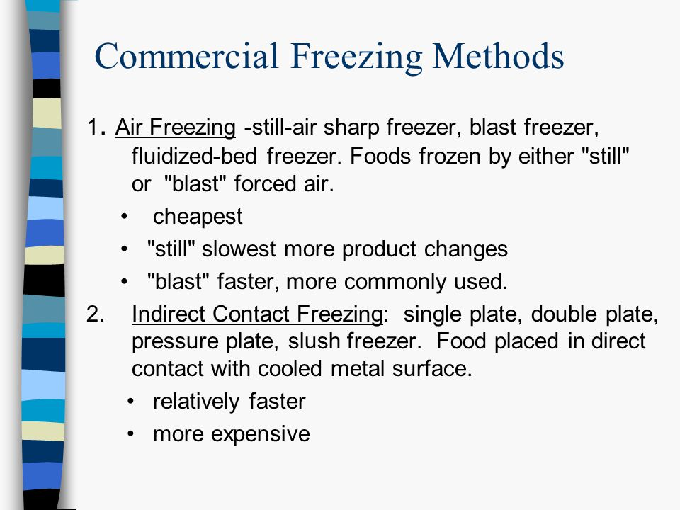 Commercial Freezing Methods
