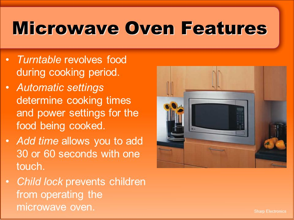 Microwave Oven Features